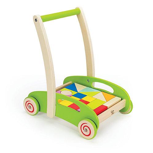 Chariot avec cubes