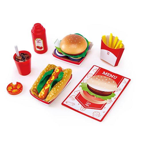 Ensemble de fast-food