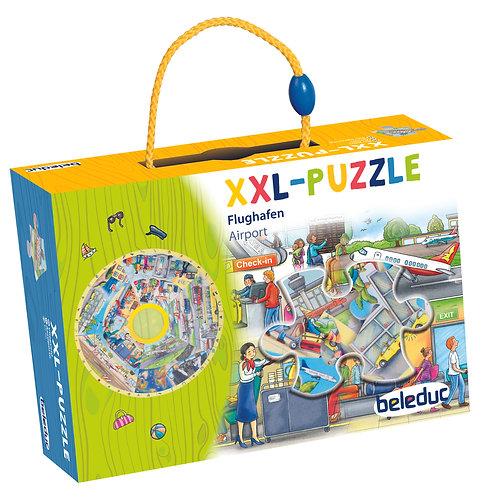 """Puzzle d'apprentissage XXL """"Aéroport"""""""