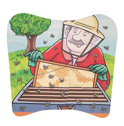 Puzzle multicouche Miel