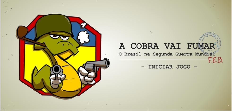 A cobra vai fumar sobre a participação do Brasil na Segunda Guerra Mundial