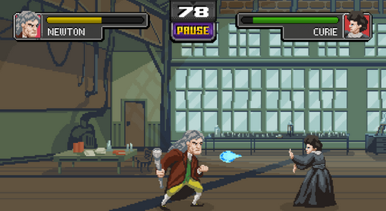 Newton vs Marie Curie