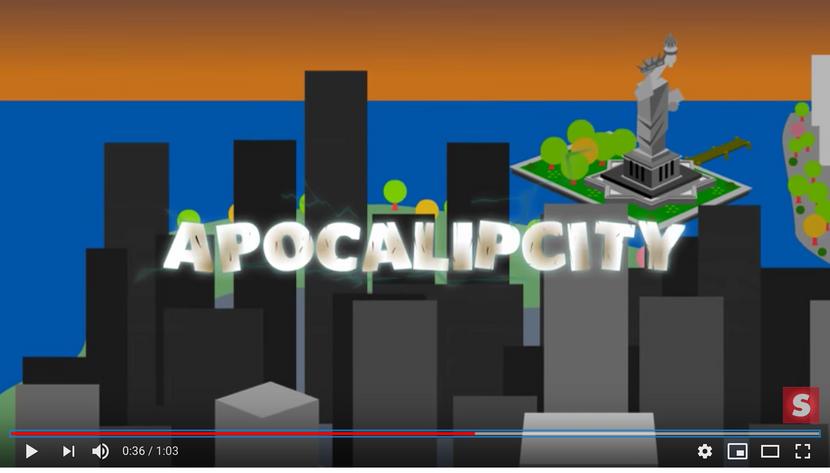"""ApocalipCity foi um """"social newsgame"""" criado para o Facebook"""