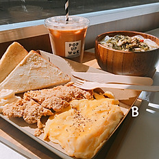 Build your own brunch B 自選常餐 B