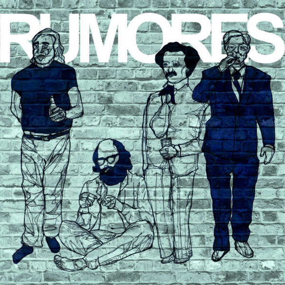 Ilustração de Leonardo Mathias para o livro recria a capa do primeiro disco dos Ramones