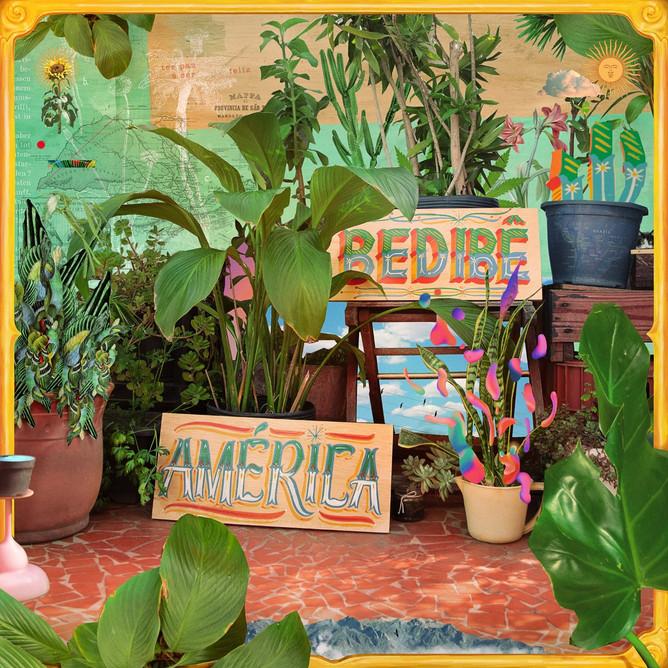 """""""América"""", segundo disco, capa de Lukas Doraciotto"""