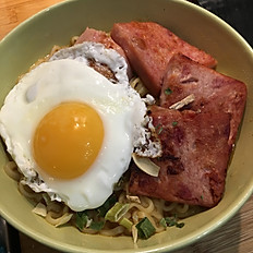 餐蛋麵 Ham and egg instant noodles