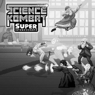 Science Kombat: um game de luta com os maiores cientistas da história