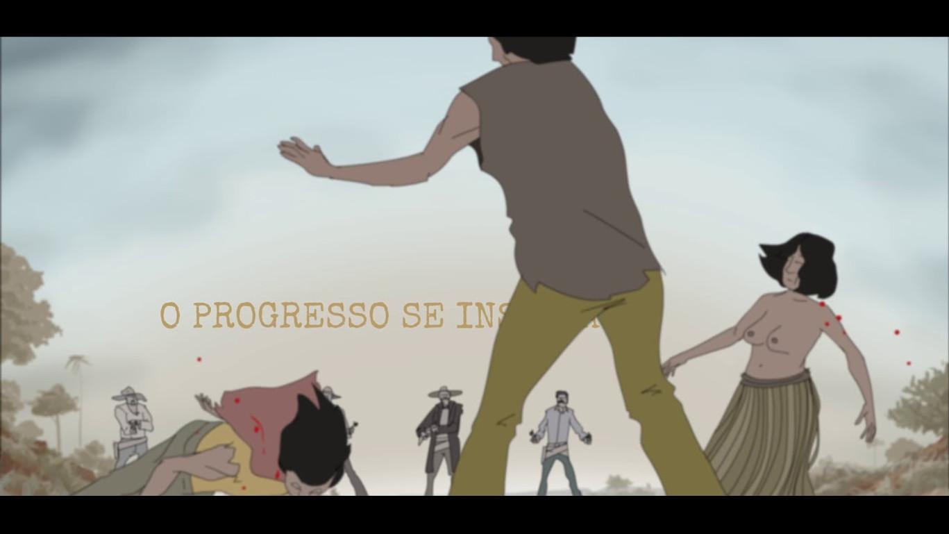 Trailer do livro Desamparo criado pelo Alisson Lima