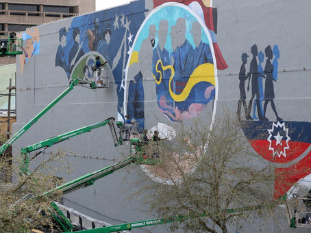 Juneteenth mural strives for 'more honest, more united' country