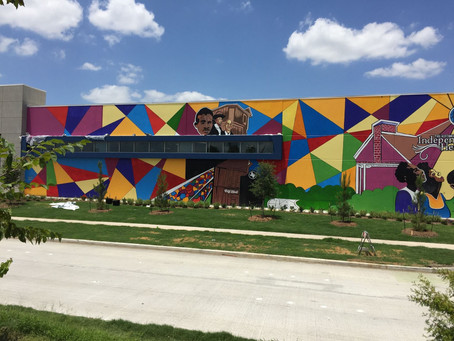 Houston Area's First Commissioned Augmented Reality Mural-Solel International
