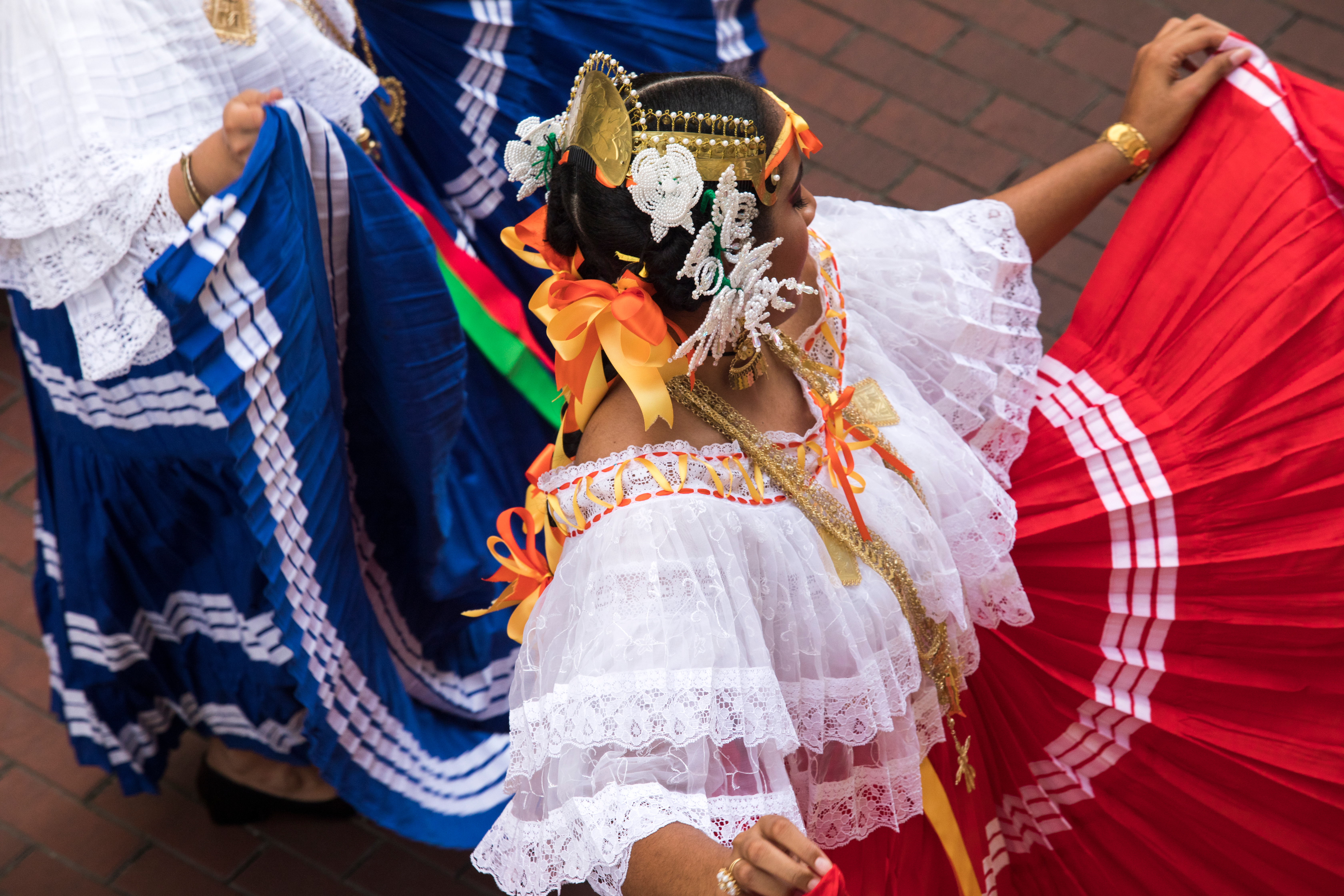 Folklore Class from Panama