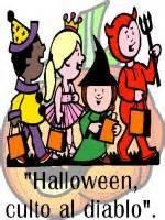 Halloween un culto al diablo!