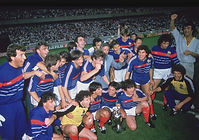 Equipe de foot de 1984 © David Cannon/Getty Images