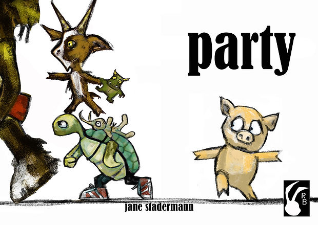 Rabbit Books, childrens book publisher, independent publisher, Sydney, Party, Picture book, Jane Stadermann