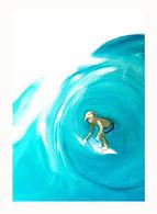 online surf art, online art sydney,surfer, cool prints, the illustration shop, tis, jane stadermann, tube
