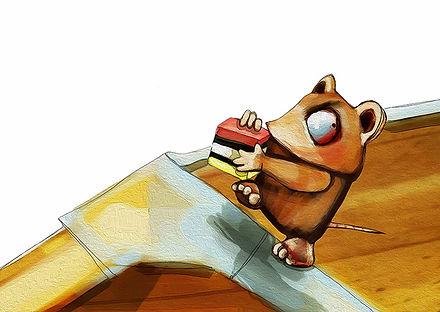 brown mouse jane stadermann