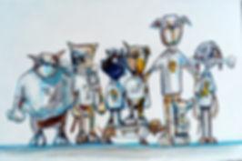 dog club by jane stadermann