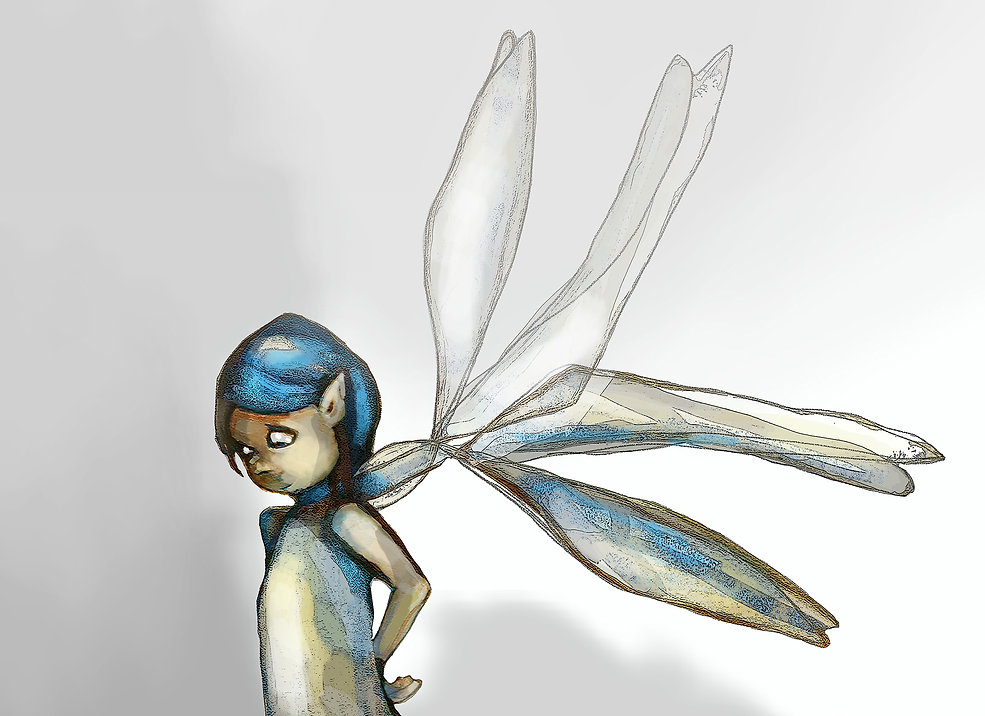 blue fairy by jane stadermann