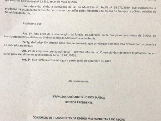 GREVE DOS RODOVIÁRIOS DO RECIFE E REGIÃO METROPOLITANA SUSPENSA