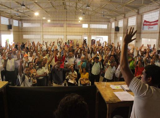 Assembleia dos rodoviários delibera retomada dos protestos, que podem acontecer no Carnaval