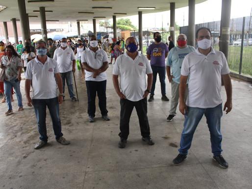 Dia Nacional de Luta: Sindicato realiza mais um ato