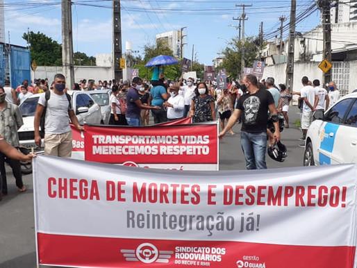 Com intimação da Itamaracá e da Mirim, já são cinco as empresas obrigadas a reintegrar demitidos