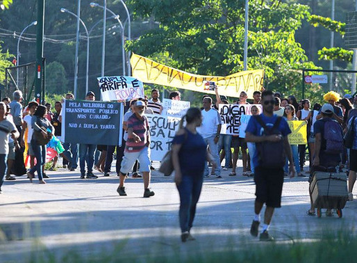 Nota de apoio aos moradores do Curado, que realizaram manifestação no TIP