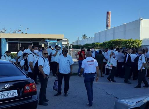 Sindicato participa de mobilização na Vera Cruz e cobra providências ao Grande Recife