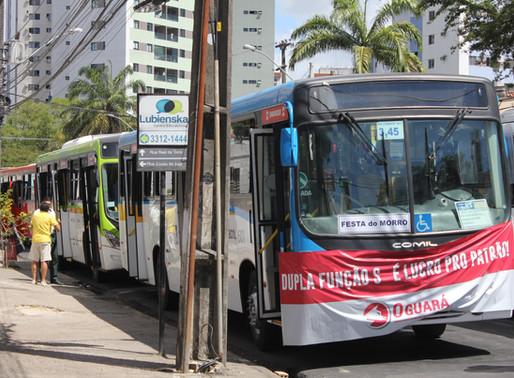 Ou Paulo Câmara acaba com a dupla função ou poderá não ter ônibus no Carnaval