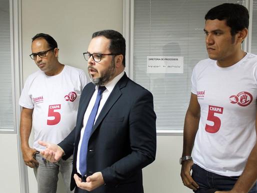 O Guará começa briga jurídica contra a dupla função