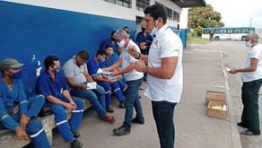 Vera Cruz   Sindicato averigua situação dos trabalhadores e cobra as soluções da empresa