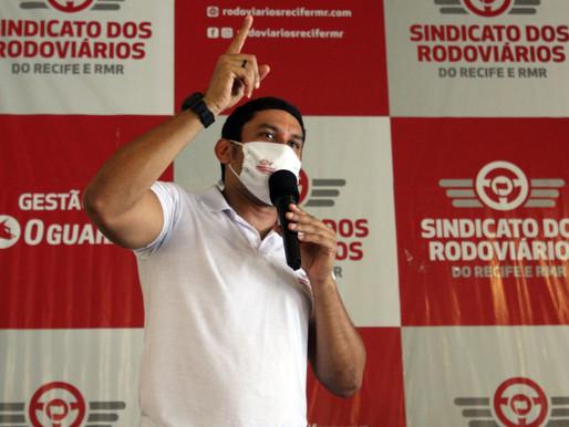Presidente do Sindicato dos Rodoviários recebe ameaças de morte