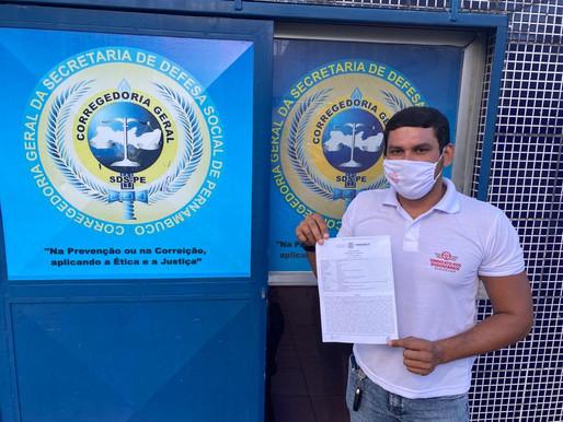 Polícia Militar de Paulo Câmara usa liminar falsa para reprimir rodoviários