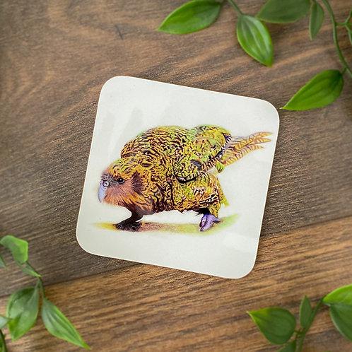 Individual Kenneth the Kakapo Coaster