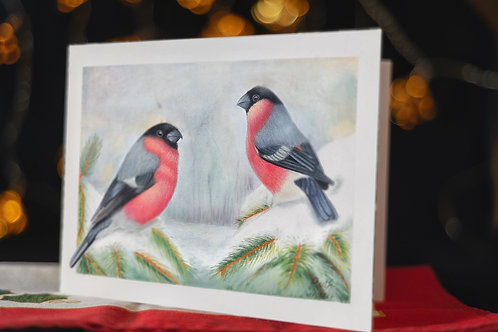 Christmas card 5 pack