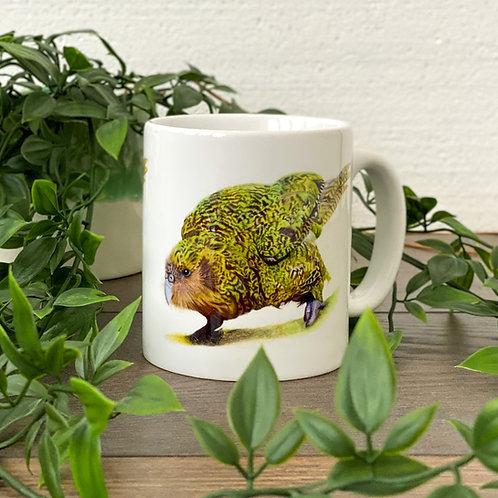 10oz Ceramic Kenneth the Kakapo Mug