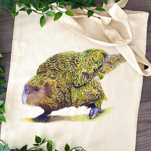 Tote Bag Kenneth the Kakapo