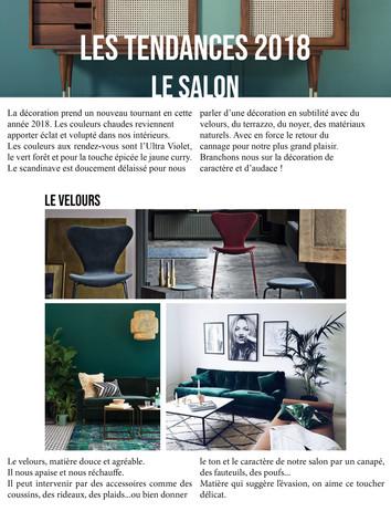 Les tendances 2018_Le Salon