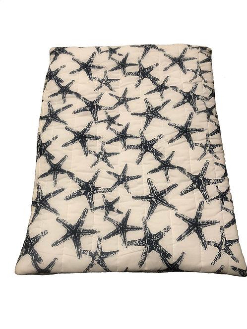 Navy Starfish Pet Bed