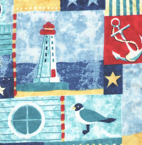 Nautical Times Fabric