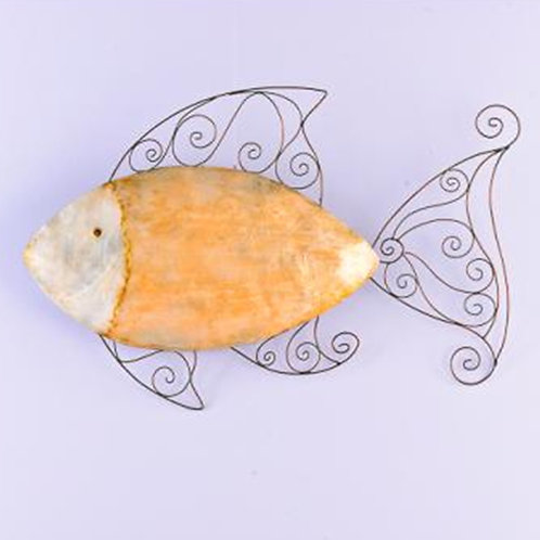 Yellow Fish Wall Decor
