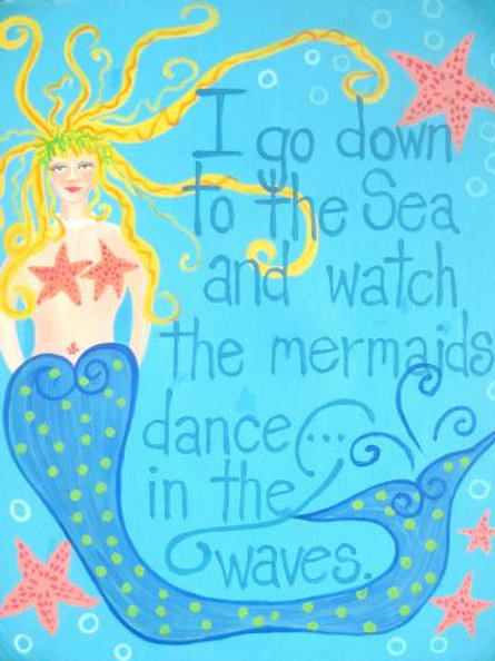 Mermaids Dance in the Waves