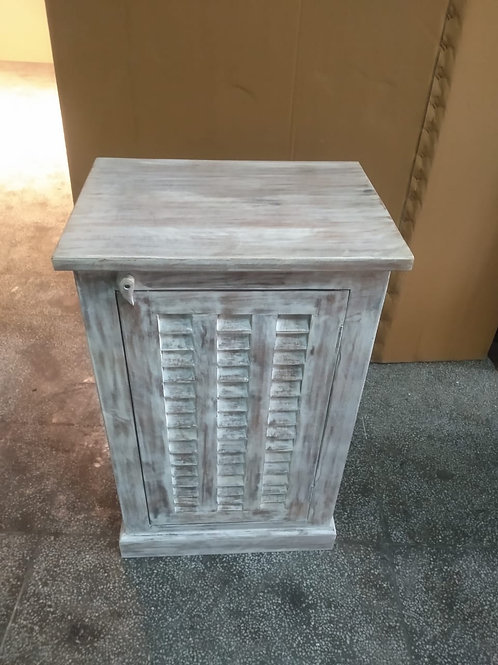 Mango Wood Whitewash Kitchen Storage Unit