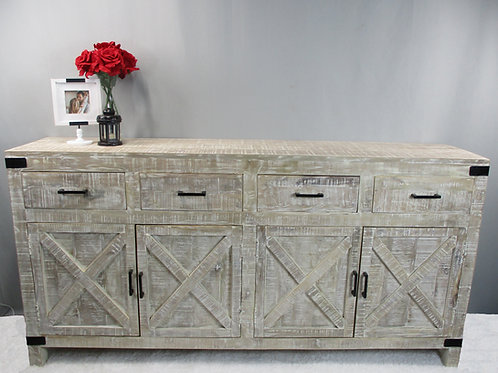 Four Drawer, Four Drawer X Farm Style Sideboard (MDA-20-175)