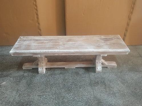 Mango Wood Natural Finish Bench