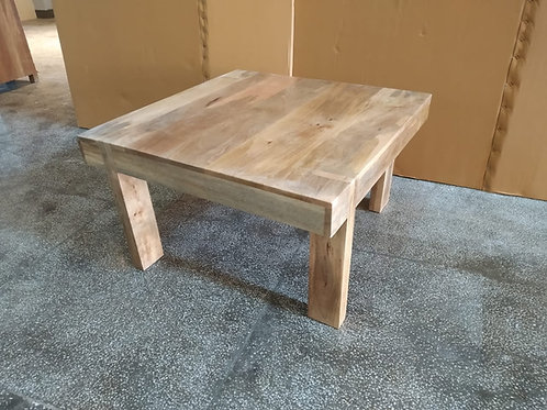 Mango Wood Natural Finish Coffee Table