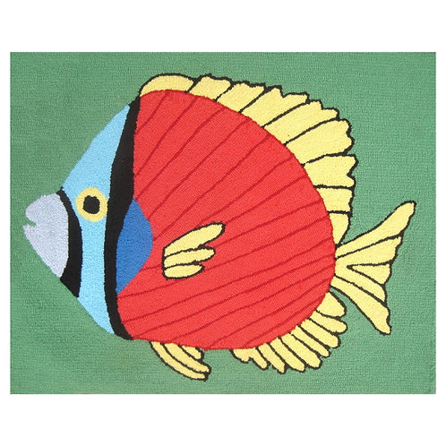 Tropical Fish Washable Doormat or Rug