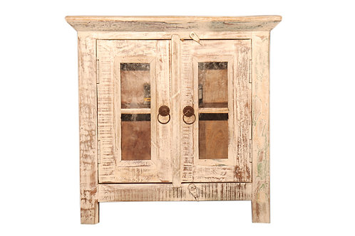 Indian Reclaimed Tan Wood TV Stand (MDA-03T)