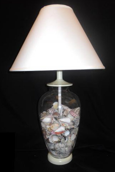 Transparent Glass Lamp